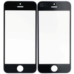 Front Glass Lens Replacement for iPhone 5S/SE Black