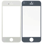 Front Glass Lens Replacement for iPhone 5S/SE White