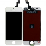 LCD with Touch Screen Digitizer Assembly Replacement for iPhone 5S/SE White