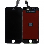 LCD with Touch Screen Digitizer Assembly Replacement for iPhone 5S/SE - Black