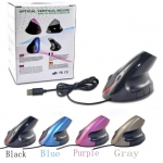 New Rechargeable 2.4G Wired Ergonomic Vertical Design Optical Mouse 2nd Gen​ for Laptop PC