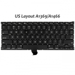 "Keyboard (Mid 2011-Early 2015) Replacement for MacBook Air 13"" A1369 A1466 - US English"