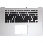 "Top Case with Keyboard (US) Replacement for MacBook Pro Retina 15"" A1398 2013 (without trackpad)"