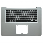 "Top Case with ​​Keyboard Replacement for Macbook Pro 15"" Unibody A1286 (2008) - US (without trackpad..."
