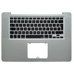 "Top Case with ​Keyboard Replacement for Macbook Pro 15"" Unibody A1286 (2008) - French (without track..."