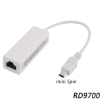 5 Pin Mini USB 2.0 Ethernet 10/100Mbps RJ45 Network Lan Adapter Card For Android Tablet PC