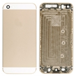 Back Cover with Side Button Replacement for iPhone SE