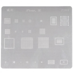 BGA Chip Ball Arrangement Template 0.16mm Replacement for iPhone SE