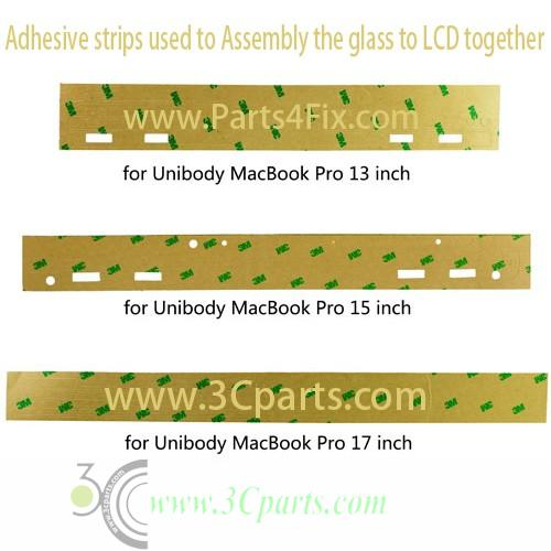 3M Adhesive Strips Replacement For Unibody Macbook Pro 17""
