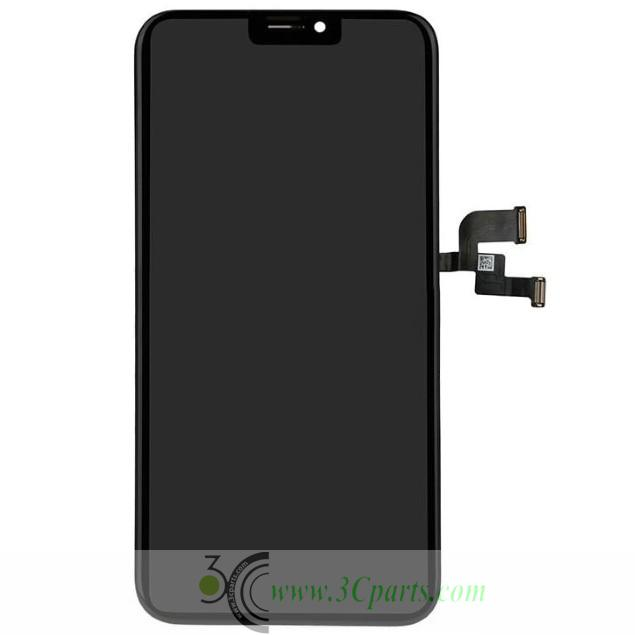 LCD Screen Digitizer Assembly with Frame Replacement for iPhone X