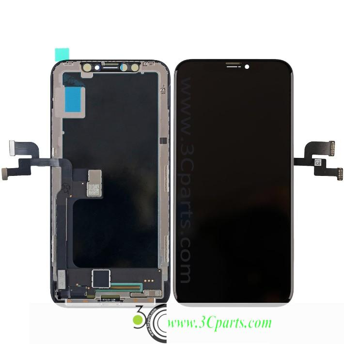 LCD Screen Digitizer Assembly with Frame Replacement for iPhone X(Tianma)