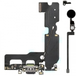 Charging Dock Flex Cable with Home Button Return Solution Repair Parts for iPhone 7 Plus