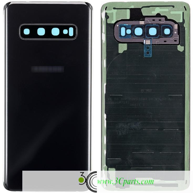 Battery Door with Camera Glass Replacement for Samsung Galaxy S10e