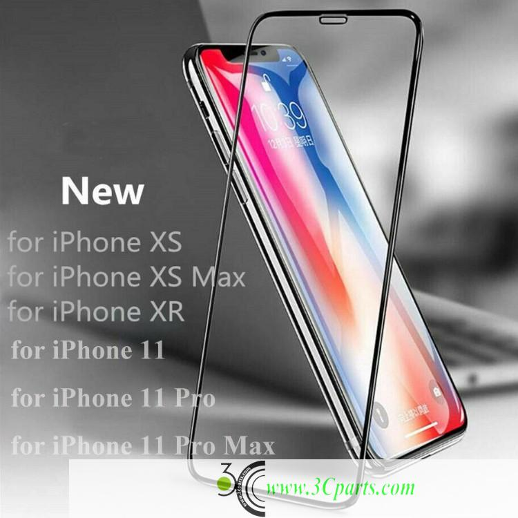 Tempered Glass Full Screen Protector Without Package (5D or 6D) For iPhone 11 Pro Max